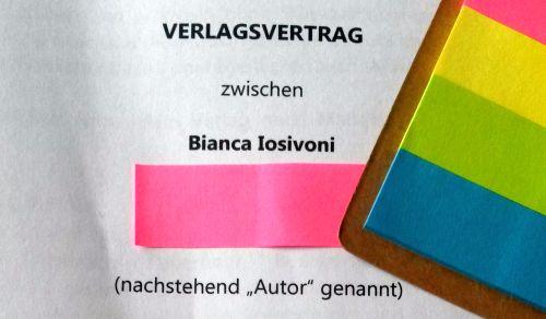 {BUCHNEWS} Verlagsvertrag 2016
